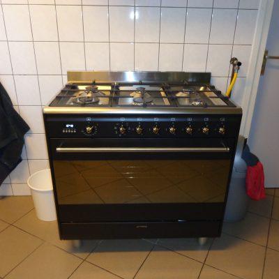Fornuis met oven